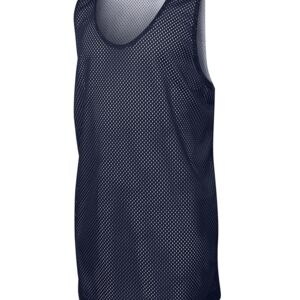 Podium Basketball Singlet Black/White 6 Thumbnail