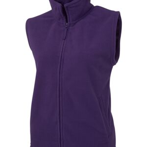 JB's Ladies Polar Vest Black 8 Thumbnail