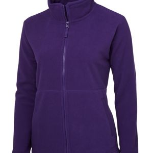 JB's Ladies Full Zip Polar Black 8 Thumbnail