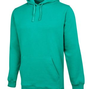 JB's Fleecy Hoodie Kelly Green S Thumbnail