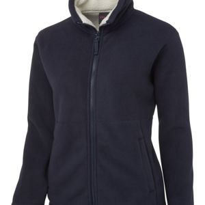 JB's Ladies Shepherd Jacket Black/Charcoal 8 Thumbnail