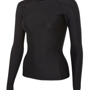 Podium Ladies L/S Performance Tee Black 6 Thumbnail