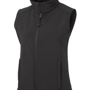 JB's Ladies Layer Vest Black 6 Thumbnail