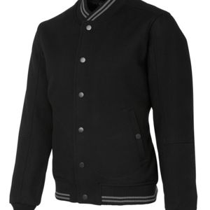JB's Baseball Jacket Black S Thumbnail