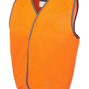 JB's Kids Hi Vis Safety Vest Lime 4-6 Thumbnail