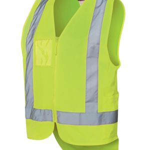 JB's HV D/Tail Safet Vest(D+N) Lime S Thumbnail