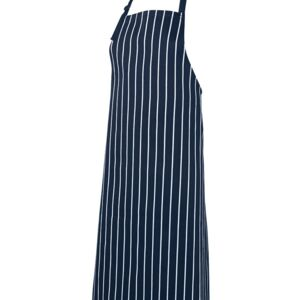 JB's Bib Striped Without Pocket Black/White Thumbnail