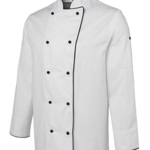 JB's L/S Chef's Jacket Black 2XS Thumbnail