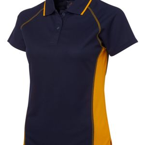 Podium Ladies Cover Polo Navy/Gold 8 Thumbnail