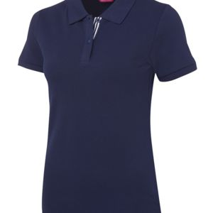 JB's Ladies Fitted Polo Jnr Navy 8 Thumbnail