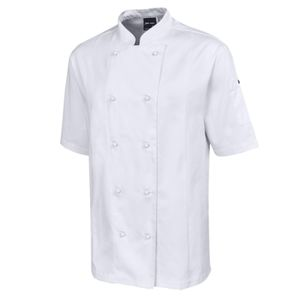 JB's S/S Vented Chef's Jacket White S Thumbnail
